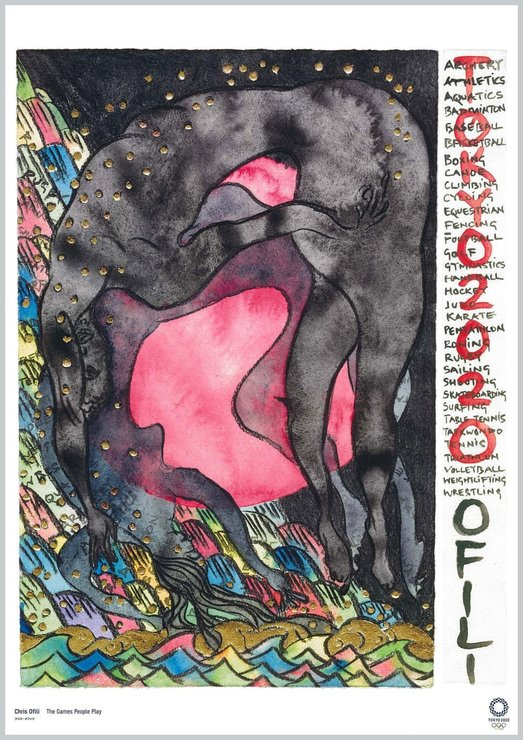 'The Games People Play' del artista Chris Ofili