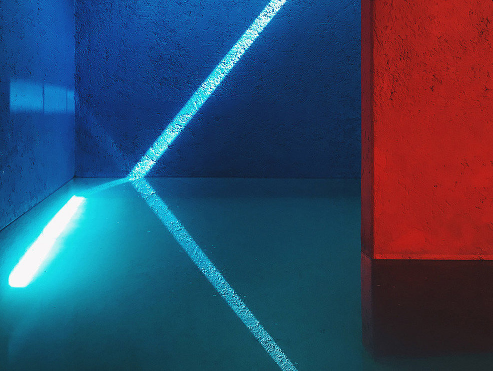 Categoría Abstracta / Primer clasificado: Jiangying Guo (EE.UU)  por 'Blue light'