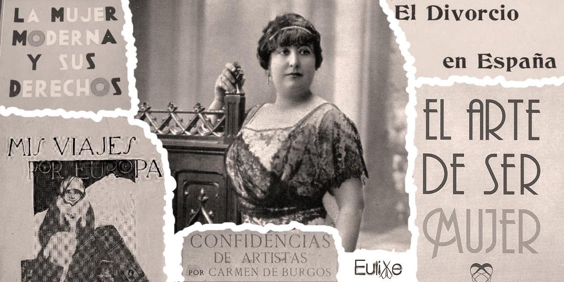 Resultado de imagen de Carmen de Burgos textos