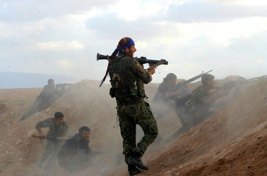 Kurdishstruggle Kurdish YPG Fighters