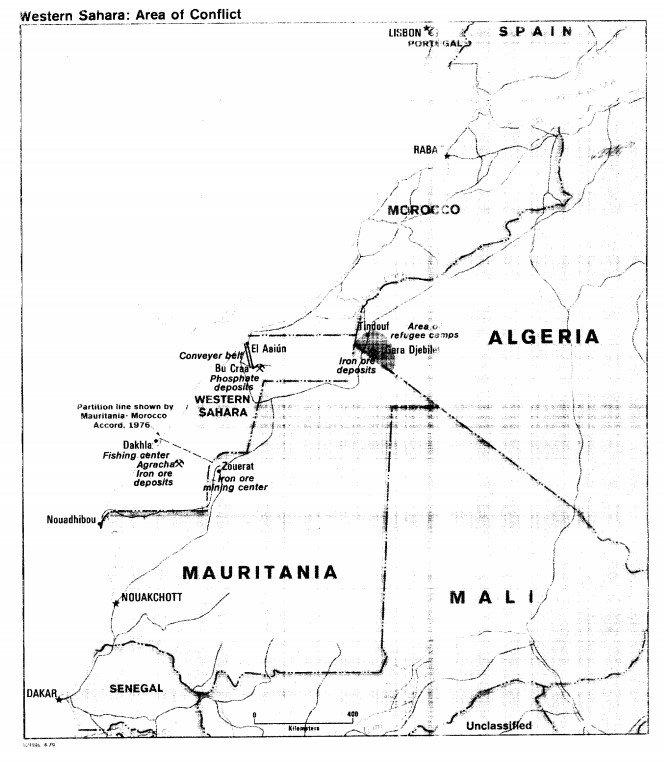 Sahara occidental CIA